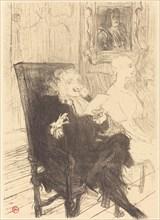 "Leloir and Moreno in ""Les femmes savantes"" (Leloir et Moreno dans ""Les femmes savantes""), 1894."