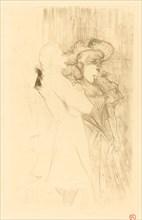 "Lender and Auguez in ""La chanson de fortunio"" (Lender et Auguez dans ""La chanson de fortunio""), 1895."