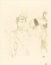 Lender and Lavalliere (Lender et Lavallière), 1895.