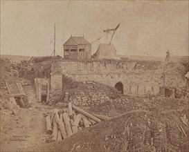 Remains of the Malakoff Tower, 1855-1856.