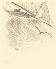 Les hirondelles de mer, 1895. Sea swallows