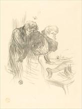 Les vieux papillons, 1895.