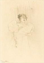 Luce Myres Full Face (Luce Myrès, de face), 1895.