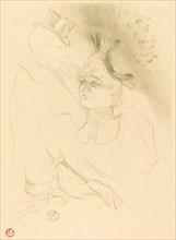 Mlle. Lender and Baron (Mlle. Lender et Baron), 1893.