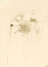 "Mlle. Lender in ""Madame Satan"" (Mlle. Lender dans ""Madame Satan""), 1894."