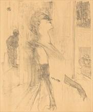 On the Stage (Sur la scène), 1898.