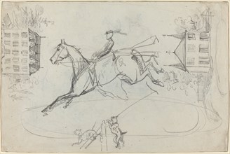 Sheet of Sketches, c. 1881.