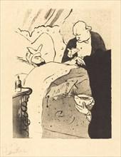 Sick Carnot! (Carnot malade!), 1893.