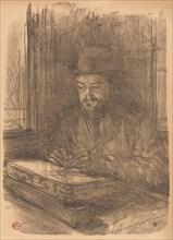 The Fine Printmaker Adolphe Albert (Le bon graveur - Adolphe Albert), 1898.