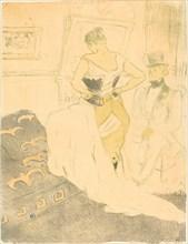 Woman in Corset (Femme en corset), 1896.