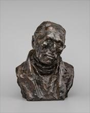 François-Pierre-Guillaume Guizot, model c. 1832/1835, cast 1929/1950.