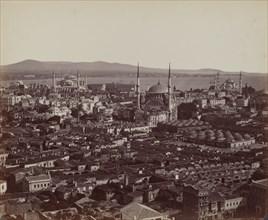 Panorama of Constantinople, 1857.