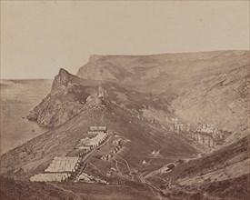 Fortification above Balaclava Harbor, 1855-1856.