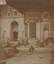 Gate to Imperial Palace and Fountain of Ahmed III, 1857.