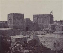 Jerusalem - Section of Old City, 1857.