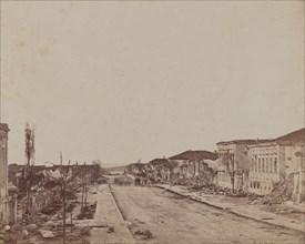 Street in Sebastopol, 1855-1856.