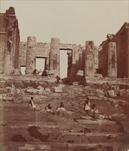 The Propylae on the Acropolis, 1857.