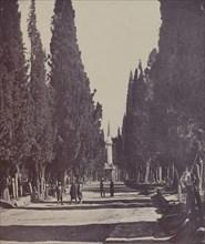 Vue dans le Grand Cimetière de Scutari (Scene in the Large Cemetery of Scutari) , 1857.