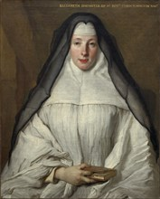 Elizabeth Throckmorton, Canoness of the Order of the Dames Augustines Anglaises, 1729.