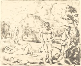 The Bathers (Large Plate), 1896-1897.