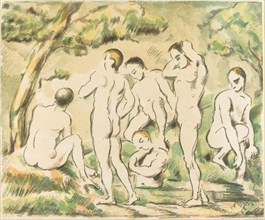 The Bathers (Small Plate), 1897.