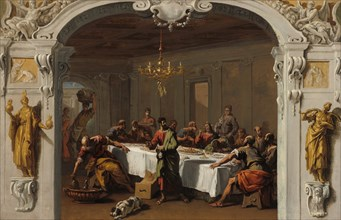 The Last Supper, 1713/1714.
