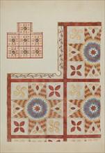 Applique Quilt, 1935/1942.
