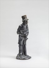 The Man of Affairs (L'homme d'affaires), model probably after 1860, cast around June 1951.