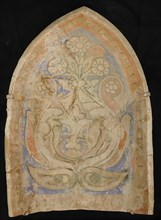 Element from a Stalactite Squinch (Muqarnas), Iran, 10th century.