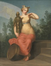 Philosophy. Allegorical Figure, 1800. Found in the collection of Statens Museum for Kunst, Copenhagen.