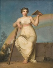 Jurisprudence. Allegorical Figure, 1800. Found in the collection of Statens Museum for Kunst, Copenhagen.