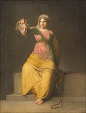 Theology. Allegorical Figure, 1800. Found in the collection of Statens Museum for Kunst, Copenhagen.