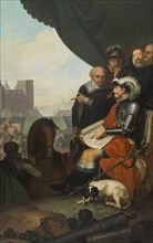 Frederick II Builds Kronborg Castle, 1781-1782. Found in the collection of Statens Museum for Kunst, Copenhagen.