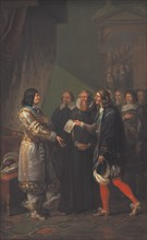 Absolute Monarchy Assigned to Frederick III of Denmark in 1660, 1783. Found in the collection of Statens Museum for Kunst, Copenhagen.