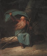 Ossian Singing His Swan Song, 1780-1782. Found in the collection of Statens Museum for Kunst, Copenhagen.