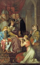 Christian I Proclaiming Holstein a Duchy in 1474, 1780. Found in the collection of Statens Museum for Kunst, Copenhagen.