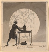 Laterna Magica, 1786-1788. Found in the collection of Statens Museum for Kunst, Copenhagen.