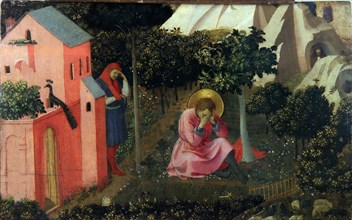 The Conversion of Saint Augustine, ca 1430-1435. Found in the collection of Musée Thomas Henry, Cherbourg-Octeville.