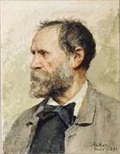 Self-Portrait, 1891. Private Collection.