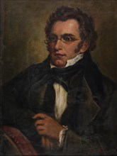 Portrait of Franz Schubert (1797-1828), c. 1850. Private Collection.