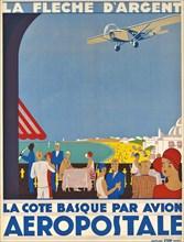 Aéropostale. La Côte Basque, ca 1928-1930. Private Collection.