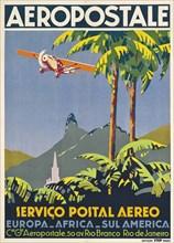 Aéropostale. Rio de Janeiro, ca 1928-1930. Private Collection.