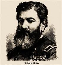 Portrait of Wilhelm Heine (1827-1885), 1886. Private Collection.
