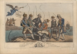The Quadruple Alliance, 1800. Private Collection.