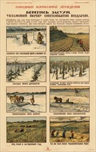 Take precautions against drought., ca 1920-1921. Private Collection.