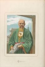 Confucius. From: Hombres y mujeres ce?lebres de todos los tiempos by Juan Landa, 1875-1877. Private Collection.
