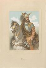 Viriathus. From: Hombres y mujeres ce?lebres de todos los tiempos by Juan Landa, 1875-1877. Private Collection.