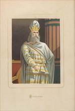 Mithridates. From: Hombres y mujeres ce?lebres de todos los tiempos by Juan Landa, 1875-1877. Private Collection.