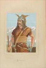 Spartacus. From: Hombres y mujeres ce?lebres de todos los tiempos by Juan Landa, 1875-1877. Private Collection.