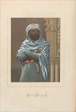 Abd al-Rahman I. From: Hombres y mujeres ce?lebres de todos los tiempos by Juan Landa, 1875-1877. Private Collection.
